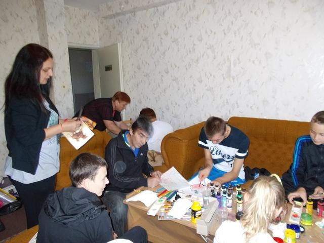 Работа с децата